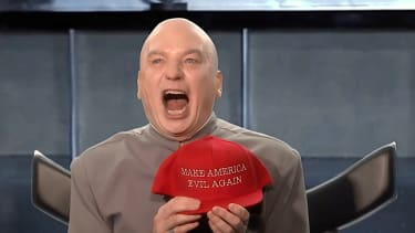 Dr. Evil is running for Congress