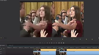 A video analysis of video posted by the White House