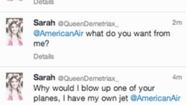 This teen quickly learned to never tweet a terrorism joke to an airline