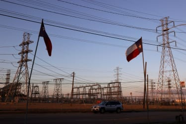 Power lines in Houston