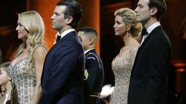 Donald Trump Jr., Jared Kushner, and their wives