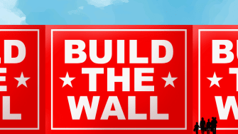 A wall.