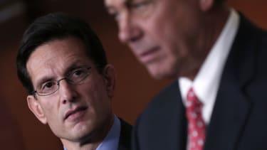 Eric Cantor and John Boehner