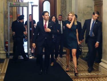 Marco Rubio and Ivanka Trump