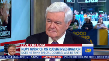 Newt Gingrich does not like what he is seeing from Special Counsel Mueller.