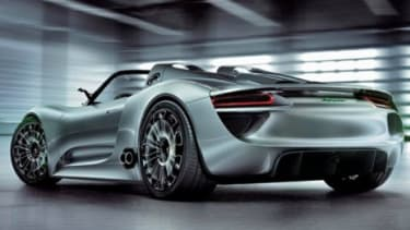 The Porsche 918 Spyder is a plug-in hybrid that seems uniquely conceived for filthy rich eco-zealots.