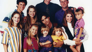 The cast of the original 'Full House'