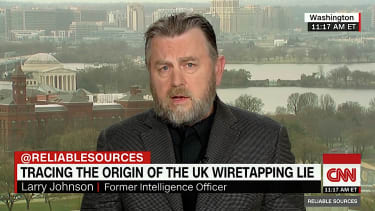 Larry Johnson talks Britain and spying