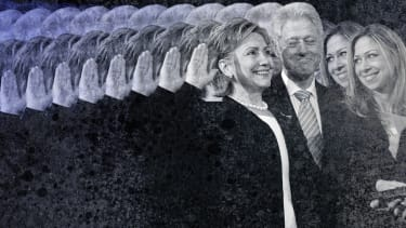 The Clintons.