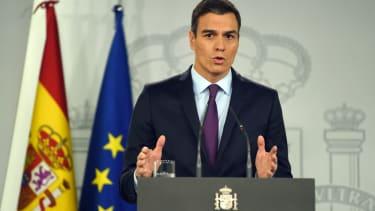 Spanish Prime Minister Pedro Sanchez recognizes Venezuelan opposition leader Juan Guaido as interim president