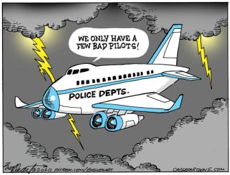 Editorial Cartoon U.S. police reform George Floyd
