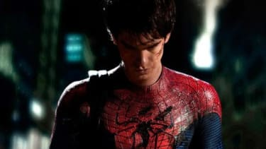 """Andrew Garfield will star in the upcoming """"Spider-Man 3D"""" -- the """"reboot of an adaptation of a comic book,"""" says Mark Harris at GQ."""
