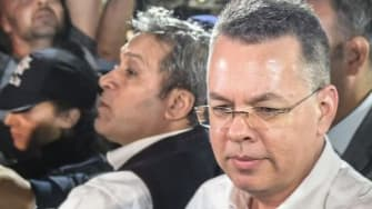 Pastor Andrew Brunson is freed from house arrest in Turkey
