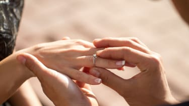 A lost engagement ring was found.