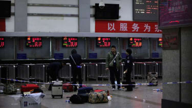 Knife-wielding men kill at least 28 people at Chinese train station