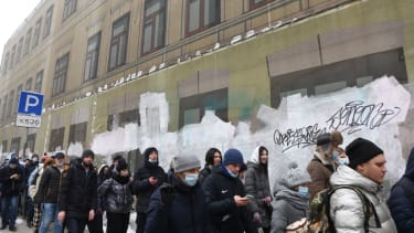 Protest in Moscow.