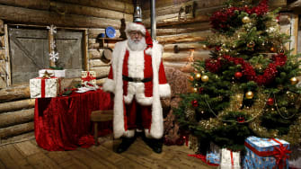 John Fields is Father Christmas.