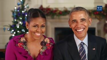President Barack and Michelle Obama