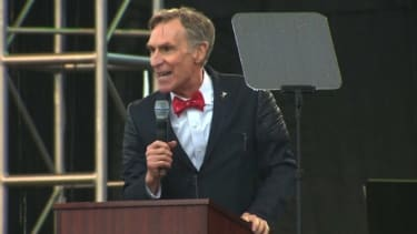 Bill Nye at the March for Science