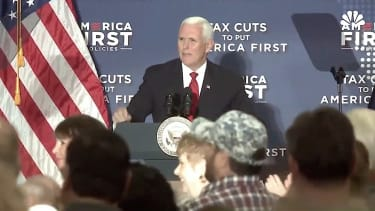 Vice President Mike Pence lauds Joe Arpaio