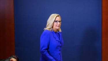 Liz Cheney speaks after her ouster