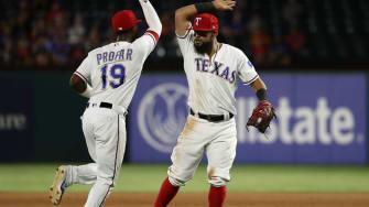 Texas Rangers pull off a rare triple play