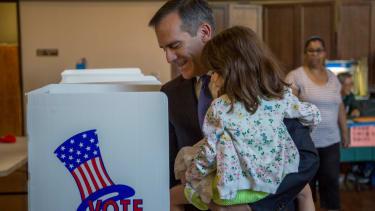 Los Angeles Mayor Eric Garcetti re-elected