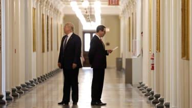 President Trump and Steve Mnuchin.