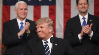 Donald Trump addresses Congress