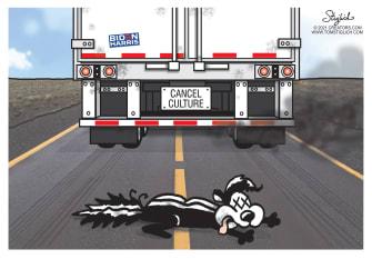 Editorial Cartoon U.S. pepe le pew space jam