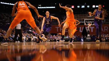 WNBA players.