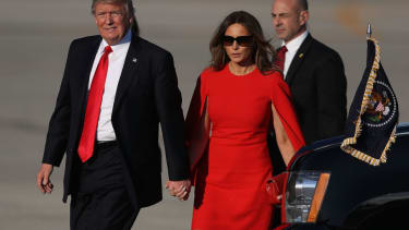 President Trump and First Lady Melania Trump