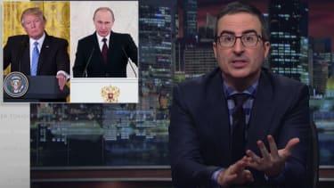 John Oliver lambasts Trump's relationship with Putin