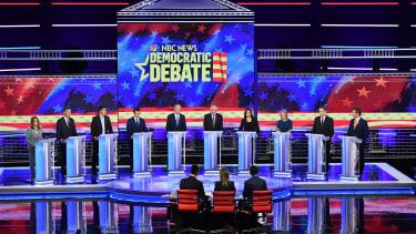 The second Democratic Debate.