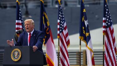 Trump in Wilmington, NC