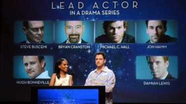The Emmy nomination announcements