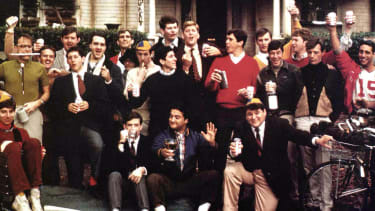 A scene from Animal House.