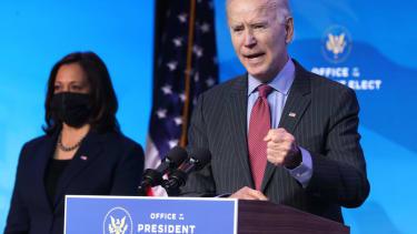 President-elect Joe Biden and Vice President-elect Kamala Harris.