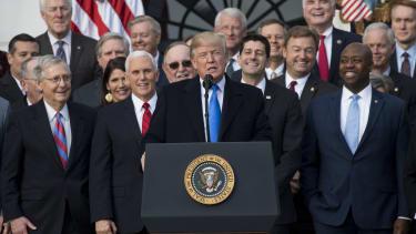 Happy Republicans.