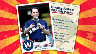 A Scott Walker card.