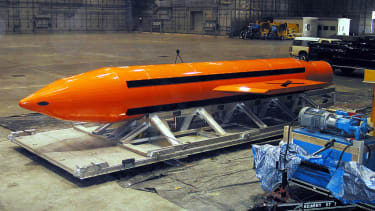 Massive ordnance air bomb.