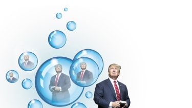 Donald Trump exists within his own little bubble.