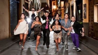 """The cast of """"Jersey Shore"""""""