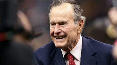 George H.W. Bush honored for breaking 'no new taxes' pledge