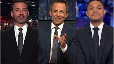 Late Night on Trump's whistleblower