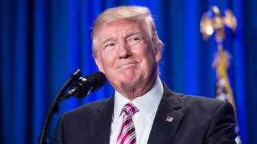 President Trump addressed a Republican retreat in Philadelphia in January.