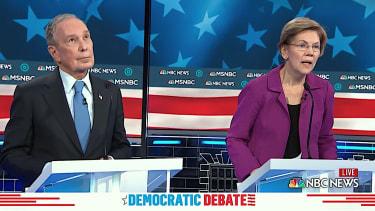 Elizabeth Warren savages Mike Bloomberg