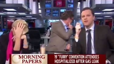 On Monday, Morning Joe's Mika Brzezinski learned what a 'furry' is on live TV