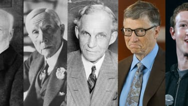 There is a long history of wealthy philanthropists.