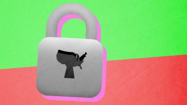 A lock.